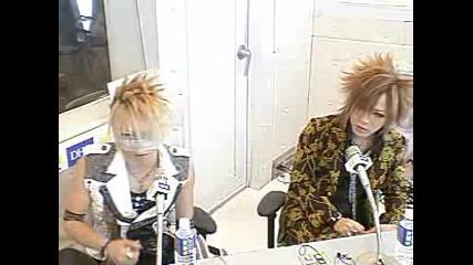 Gazette - Dhc Countdown Tfm Reita and Ruki