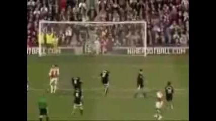 Арсенал - Топ 10 гола на всички времена