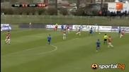 Футболистите и феновете подкрепиха Стенли на Видима - Цска