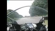 Yamaha Yzf R6 Topspeed On German Autobahn.flv