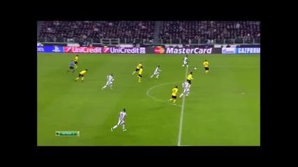 24.2.2015 Ювентус-борусия Дортмунд 2-1 Шампионска лига 1/8 финал първа среща