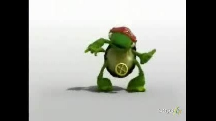 Dancing Turtle - - Hip Hop Version