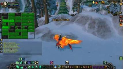 World of Warcraft:mop Battleground с Crazy Mage,monster и Criss1cross1