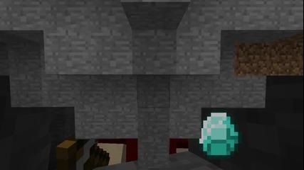 Minecraft - Докато търся диаманти :)