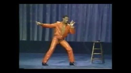 Eddie Murphy Имитира Elvis