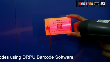 Read Qr barcode with different scanning devices