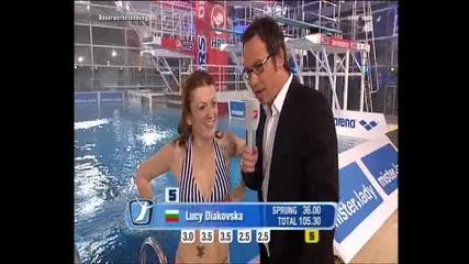 Lucy Diakovska @ Tv total Turmspringen 2010 / 2nd part /