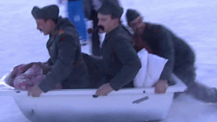 Daredevils conquer Alpine slopes in fancy dress BATHTUB race
