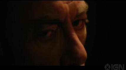 Избий всички (2017) / Сцена от филма - Бой в затвора