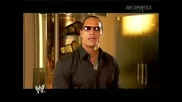 Finaly The Rock Has Come Back To Monday Night Raw