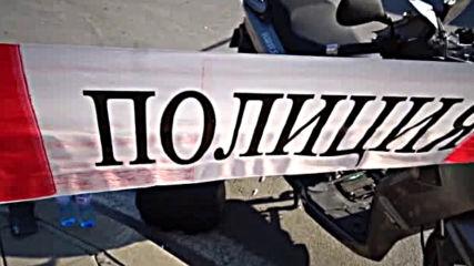 Кола блъсна моторист пред университета в Благоевград