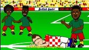Анимации за световното: Камерун 0 - 4 Хърватия
