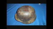 Ww2 German Helmet - camouflages & foliage Wh,ss,wl M35 M38 M40 M42 etc.