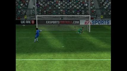 Fifa 11 дузпи Реал Мадрид - Челси