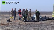 Bodies Retrieved from Sinai Crash Site of Downed Russian Flight 7K9268