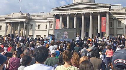 Др. Андрю Кауфман (dr. Andrew Kaufman) на протеста в Лондон 19_09_2020