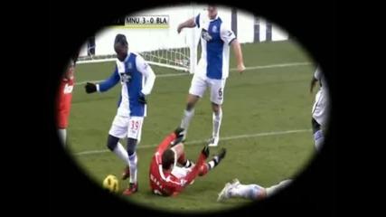 Бербатов срещу Blackburn