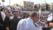 State of Palestine: Jerusalem Day marchers parade through Muslim Quarter