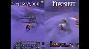 Mercader vs Fiveshot Ultimate rogue Duels