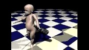 Анимация - Пияно Бебе
