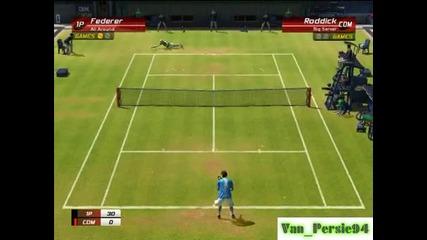 Federer Vs Roddick - Virtua Tennis 3