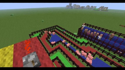 Mincraft - Pig Race