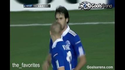 Valencia 1:1 Schalke (champions League)
