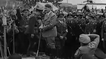 Работете за 300 000 км за 10 години! Държавната пътна схема на Хер Хитлер- Франкфурт на Майн 1933 г.