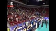 Волейбол: България победи Португалия с 3:1 гейма пред празни трибуни