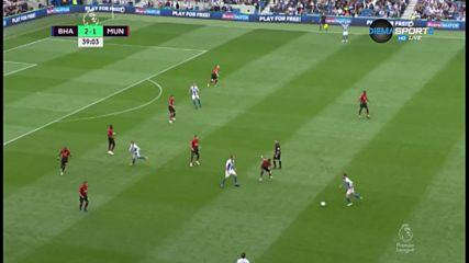 Проблемите на Манчестър Юнайтед в двубоя с Брайтън