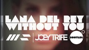 Lana Del Rey - Without You (joey Trife x Wav35hapers)