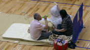 Japan: Yatsushiro gymnasium turned shelter for flood evacuees