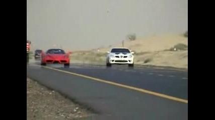 Mercedes Slk With Slr Engine Races Ferrari