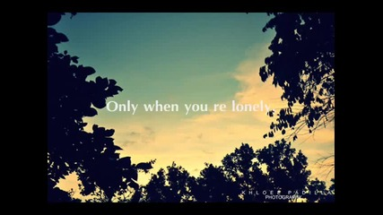"супер на - Bruno Mars - Only when you""re lonely ( Lyric Video)"