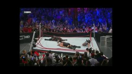 Ето как завърши мача между Mark Henry и Big Show