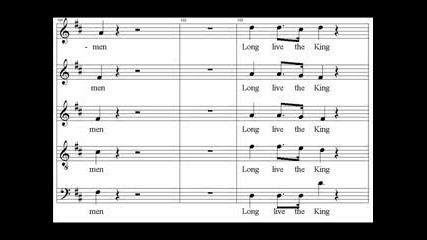 Коронационен Химн На Английските Крале И Кралици