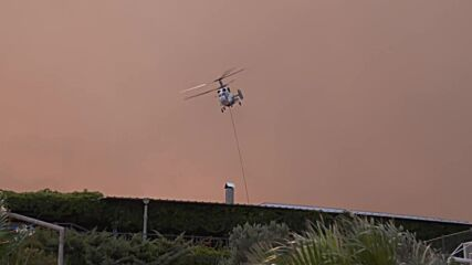 Turkey: Helicopters deployed to battle wildfires on southern coast