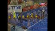 Юсейн Болт с световен рекорд на 100м. - 9.58 секунди