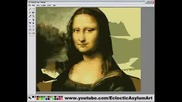 Speed Painting Mona Lisa With Ms Paint