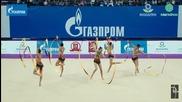 Вижте уникалния танц на нашите момичета, с който грабнаха златото в Москва!