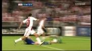 Champions League 2010/11 Play - offs Ajax Amsterdam vs Dynamno Kyiv