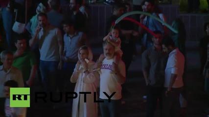 Iran: Thousands in Tehran celebrate nuclear deal