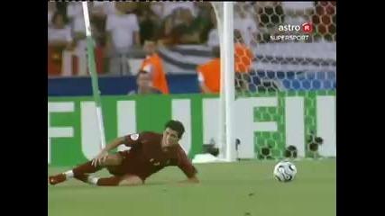 Най - смешната симулация в историята на футбола