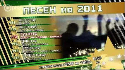 Песен на 2011 - Годишни музикални награди на Планета