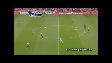 Арсенал отново разби Тотнъм с 5:2