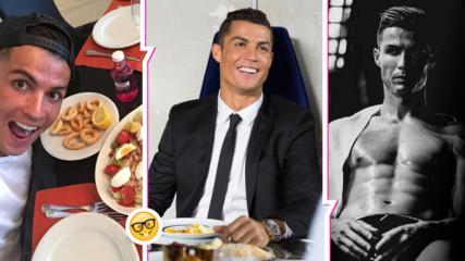Как го прави Роналдо? Ето как се храни футболистът, за да е винаги във форма!