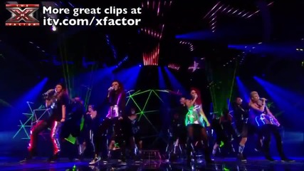 Little Mix Please don stop the music live X factor 2011