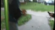 Бг!деца се удрят по дупетата с електрошок