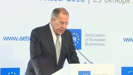 Russia: EU being led by 'Russophobic minority', acting against its own interests - Lavrov