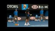 Роджър Федерер : изпълнения с китка